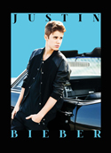 Justin Bieber - Fabric Music Poster