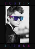 Justin Bieber Fabric Band Poster
