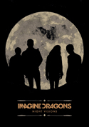 Imagine Dragons - Howling Moon - Fabric Music Poster