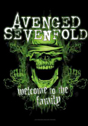 Avenged Sevenfold - Fabric Music Poster