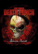 Five Finger Death Punch - - Fabric Music Poster