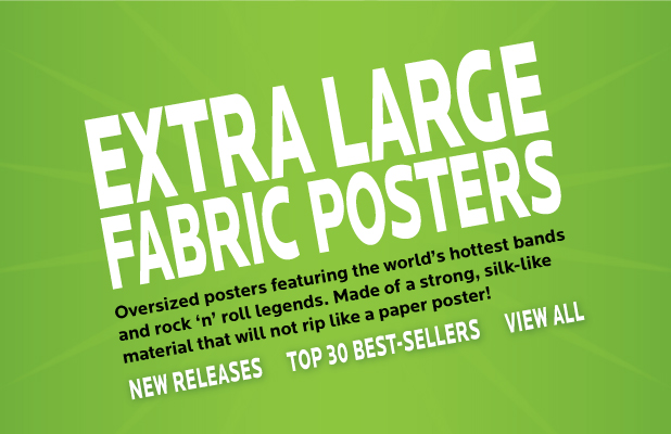 Fabric Music Posters and Band Wall Tapestries from LPGI